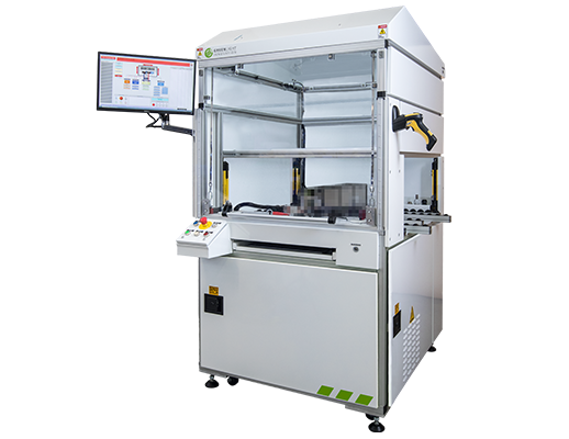 End-of-Line Battery Module Test System Production