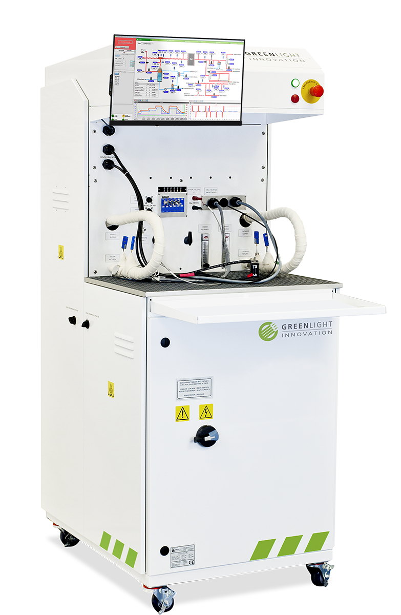 PEM Single Cell Test Station